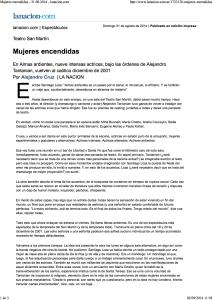 Almas ardientes- 31.08.2014 - lanacion