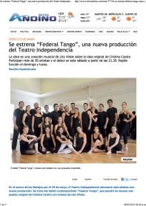 Federal Tango - sitioandino